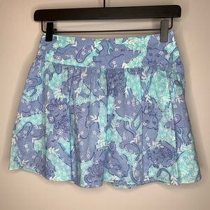 Lilly Pulitzer White Label Chow Wagon Skirt